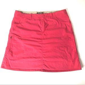 Eddie Bauer coral plus size skirt sz 14